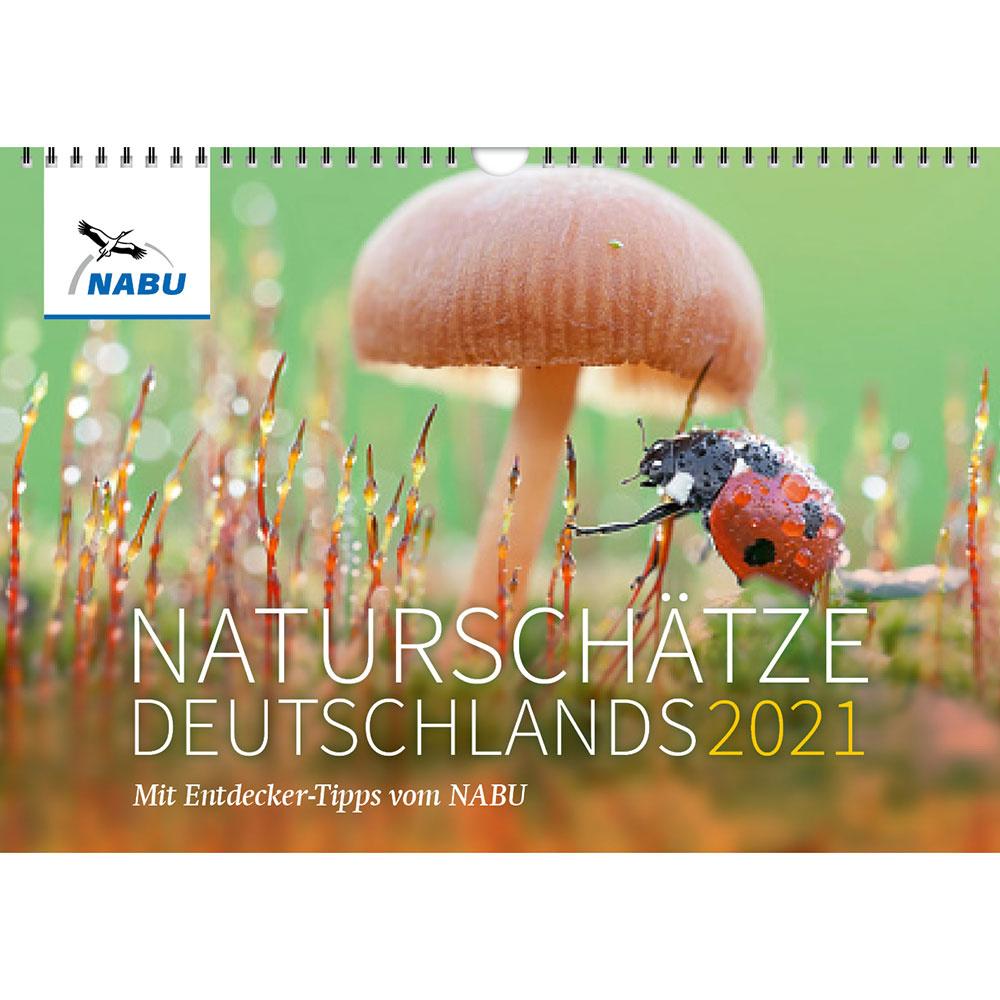 Naturschätze Deutschlands 2021. Mit Entdecker-Tipps vom NABU