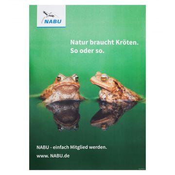 Natur braucht Kröten (Poster)