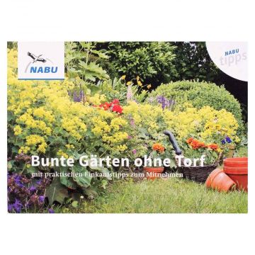 """NABU-Tipp """"Bunte Gärten ohne Torf"""""""