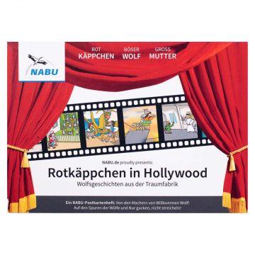 Postkartenheft Rotkäppchen in Hollywood