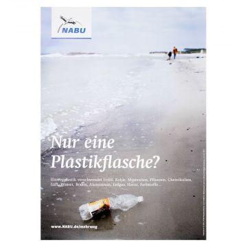Nur eine Plastikflasche