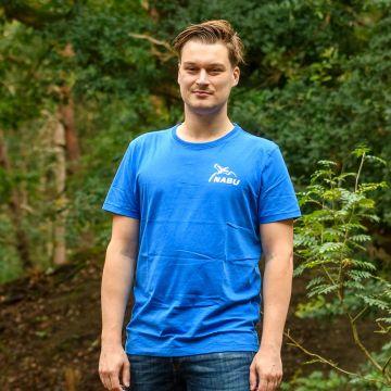 T-Shirt Herren royal/blau