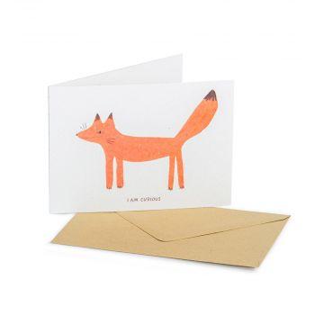 Grußkarte Fuchs