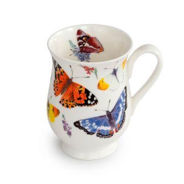 Tasse mit Schmetterlingen