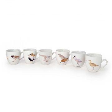Tassen-Set Wattvögel