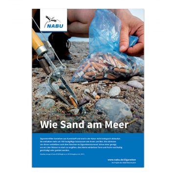 Wie Sand am Meer (Digitales Poster)