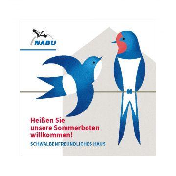 """Mini-Broschüre """"Schwalbenfreundliches Haus"""""""