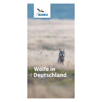 Faltblatt Wölfe in Deutschland