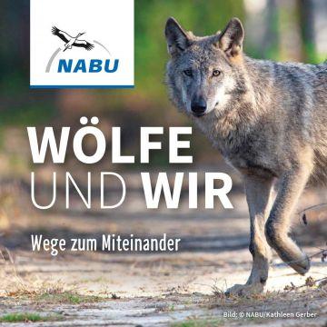 Wolf. Wege zum Miteinander - Aufkleber
