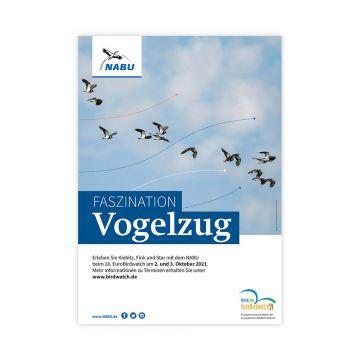 Poster Faszination Vogelzug