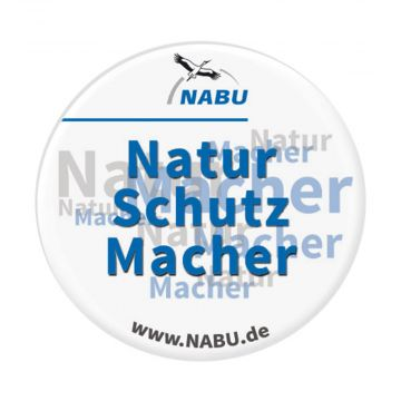 "Button, Motiv ""Naturschutzmacher"