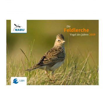 Die Feldlerche – Vogel des Jahres 2019 (Poster)