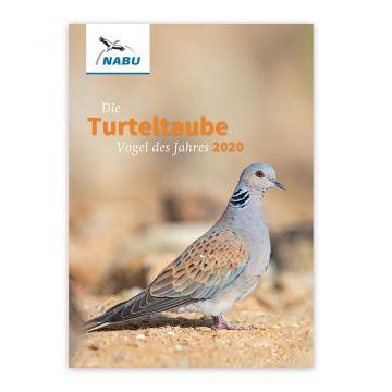 """Infobroschüre """"Die Turteltaube – Vogel des Jahres 2020"""""""