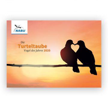 """Plakat """"Vogel des Jahres 2020 - Die Turteltaube"""""""