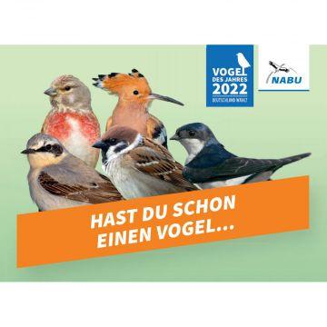 Postkarte - Vogel des Jahres 2022 (Print)
