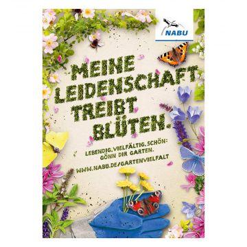 """Plakat """"Meine Leidenschaft treibt Blüten"""""""