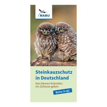 Faltblatt Steinkauzschutz in Deutschland - Den kleinen Kobolden ein Zuhause geben (Print)
