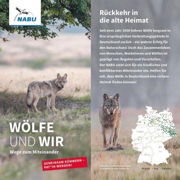 Wölfe und wir - Wege zum Miteinander - Wolf-Patenschaft