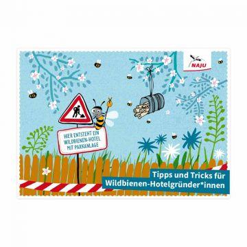 """Broschüre """"Tipps und Tricks für Wildbienen-Hotelgründer"""