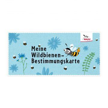 """Flyer """"Wildbienen Bestimmungskarte"""""""