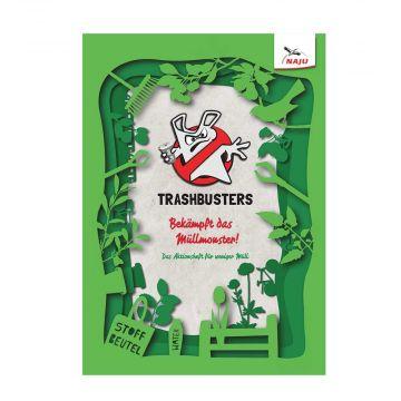 Trashbusters - Bekämpft das Müllmonster!: Das Aktionsheft für weniger Müll
