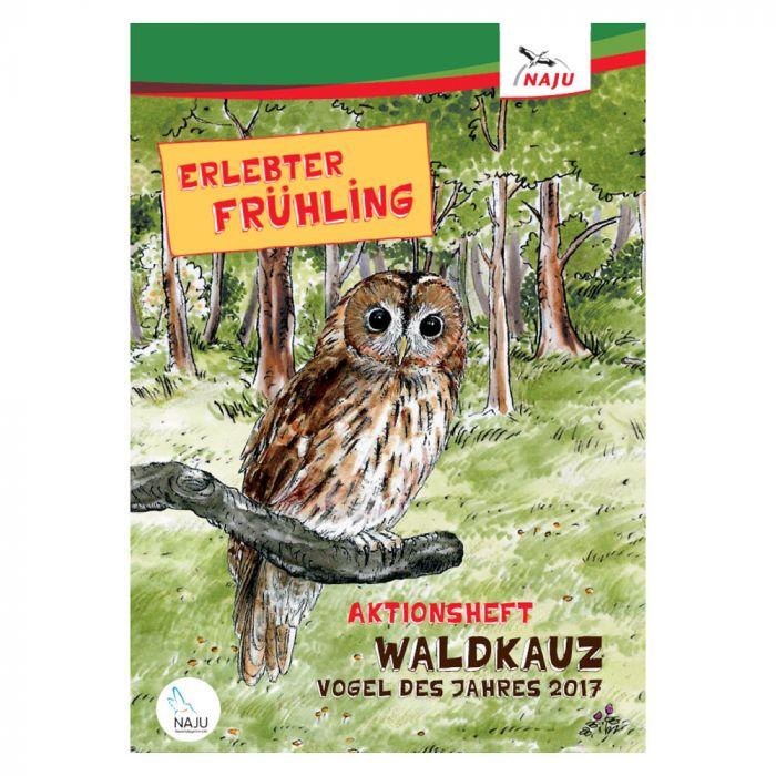 Erlebter Frühling - Aktionsheft Waldkauz