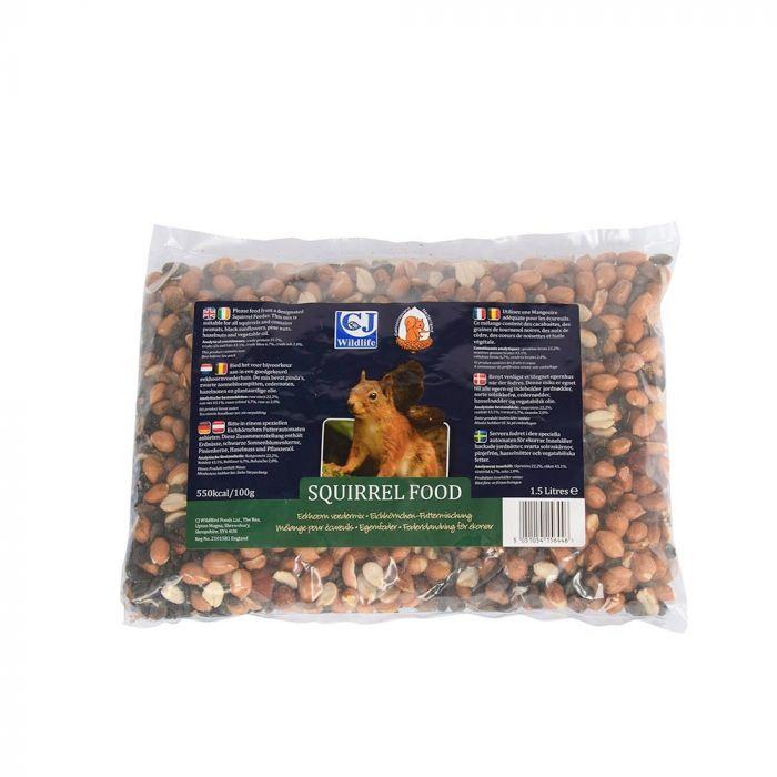Futtermischung für Eichhörnchen, 1,5 Liter