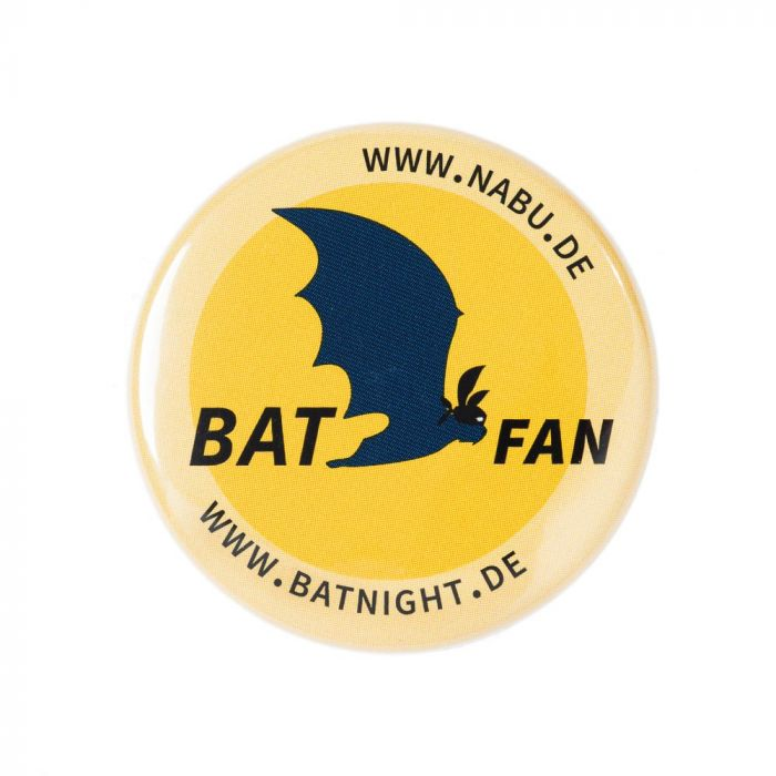 Fledermaus Button Batfan
