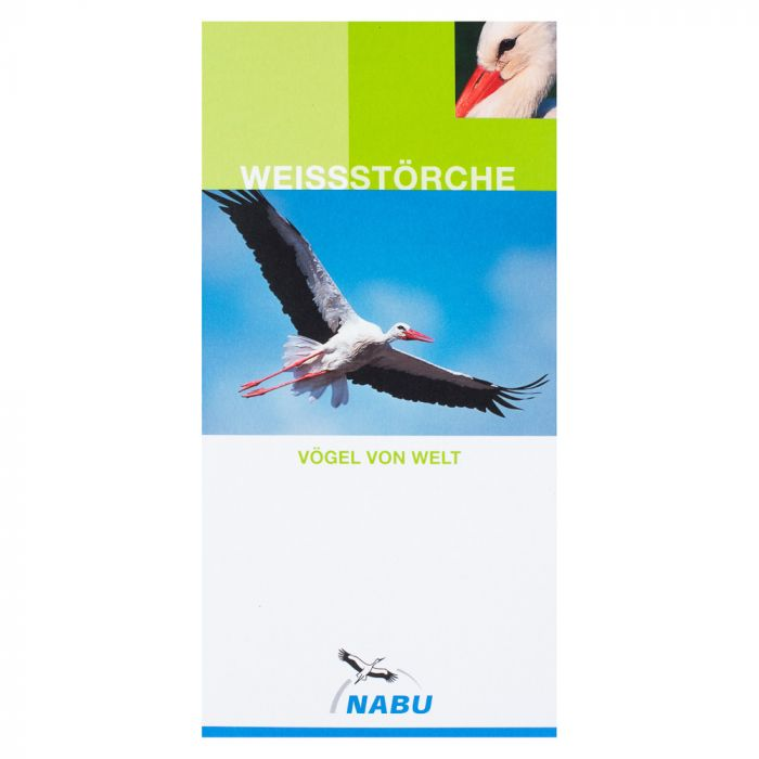 Weissstörche. Vögel von Welt