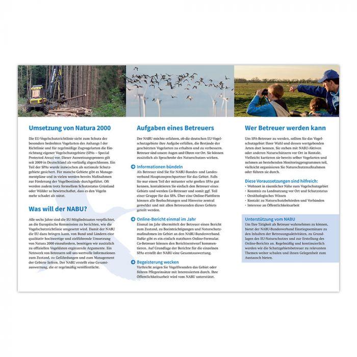 Augen und Ohren für den Vogelschutz
