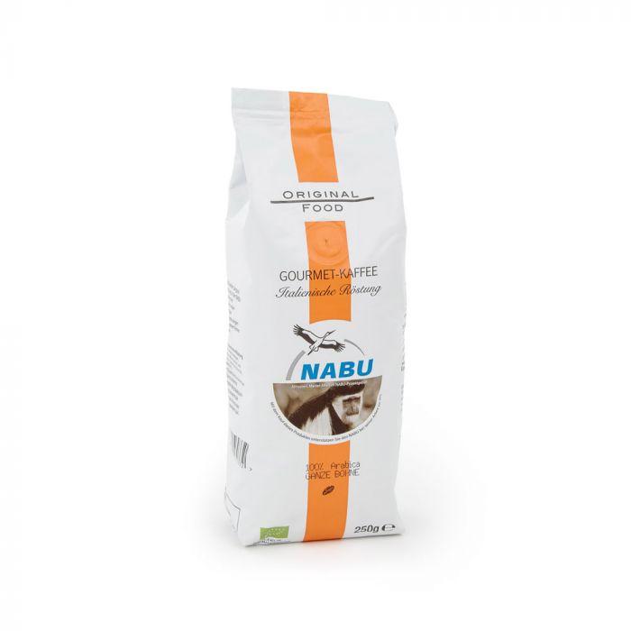 Gourmet-Kaffee, Italienische Röstung, ganze Bohne, 250g