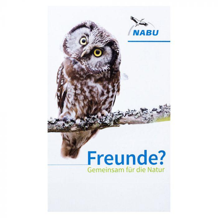 "Mitgliedsfaltblatt ""Freunde?"" mit SEPA-Mitgliedsantrag"