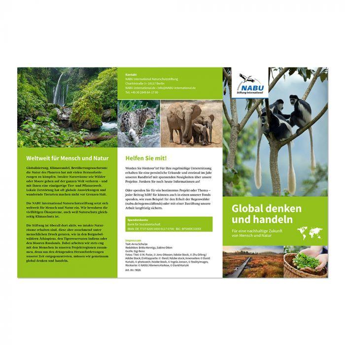 Global denken und handeln - Für eine nachhaltige Zukunft von Mensch und Natur (Digital)