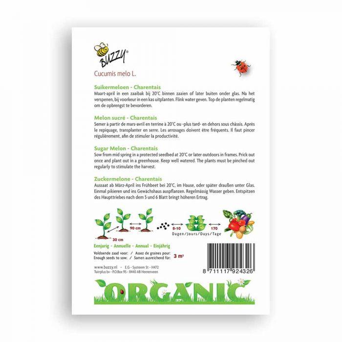 Zuckermelone Charentais (BIO)