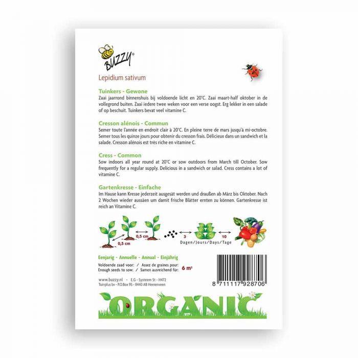 Gartenkresse Einfach (BIO)