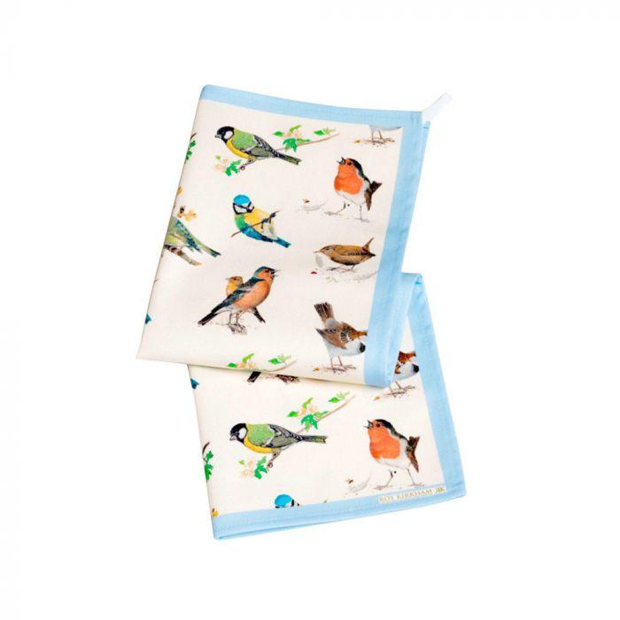 Küchentücher mit Vogelmotiv (2 Stück)