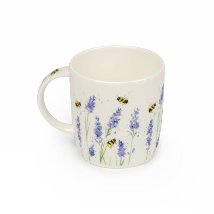 Tasse Hummel und Lavendel