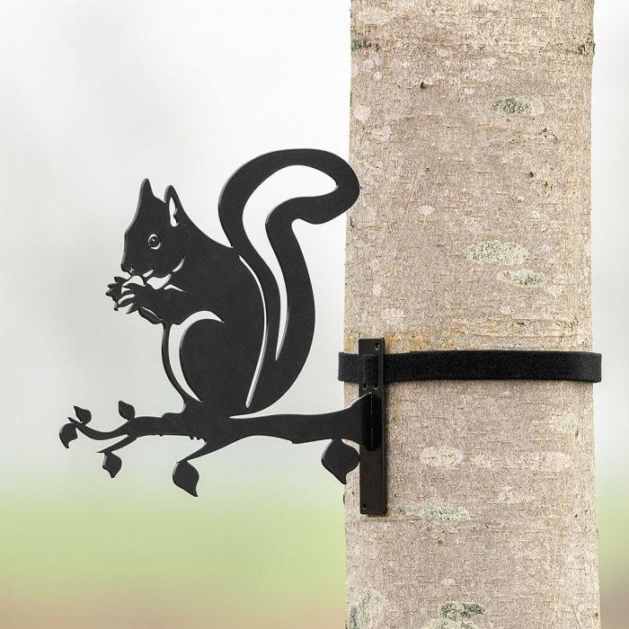 Metallsilhouette – Eichhörnchen