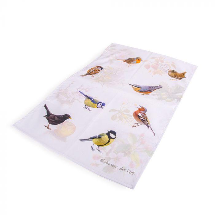 Geschirrhandtuch Gartenvögel