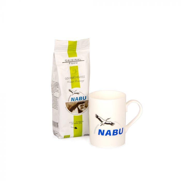 Geschenkpaket Tasse & Kaffee