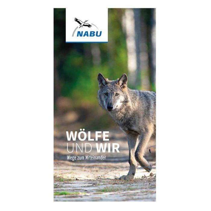 Faltblatt Wölfe und Wir