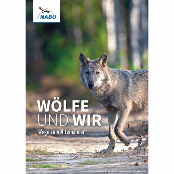 Wolf. Wege zum Miteinander - Poster A3