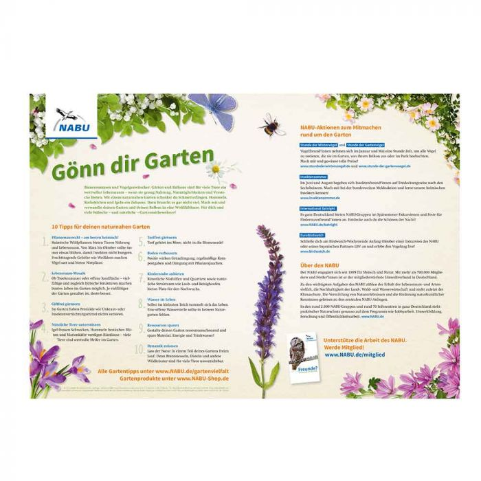 Mein Gartenjahr - Wandkalender