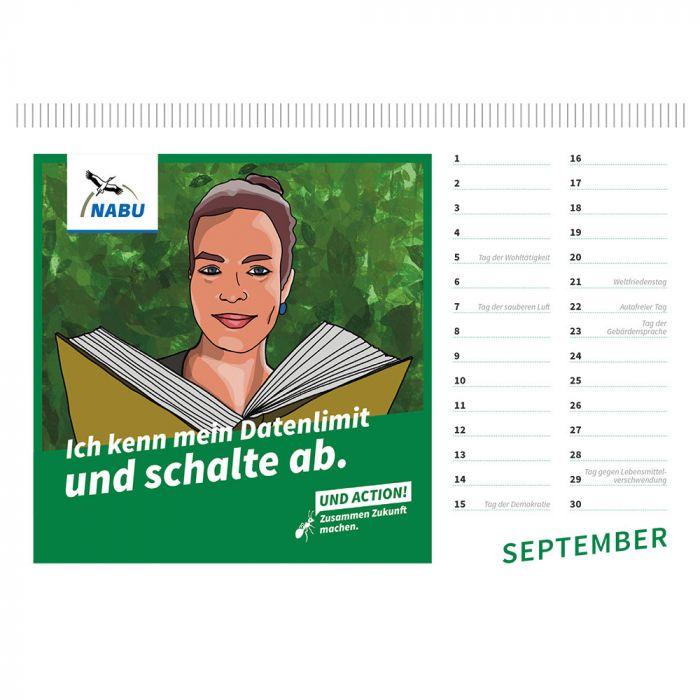 Der nachhaltige Kalender für jedes Jahr