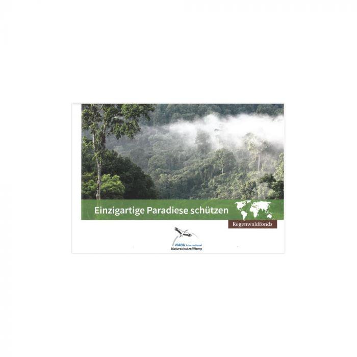 Regenwaldfonds - Einzigartige Paradiese schützen