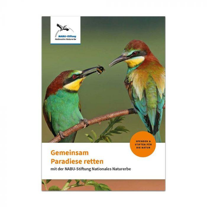 Gemeinsam Paradiese retten - Broschüre